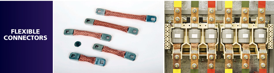 Copper Rope Braided Flexible Connectors / Rope Braid Connectors